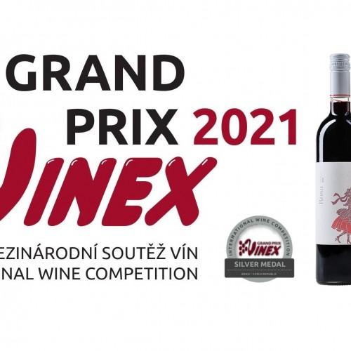 Strieborní na Grand Prix Vinex 2021
