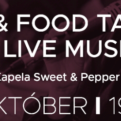 Wine & food tasting & live music