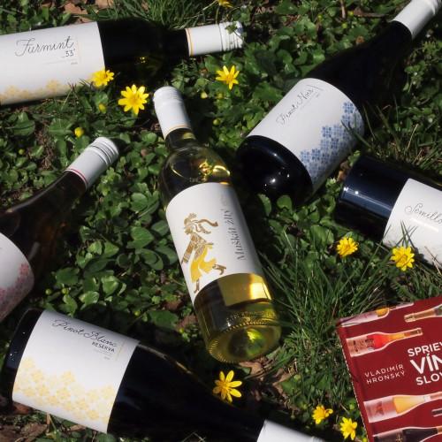 Vaše obľúbené vína dovezieme až ku vám domov